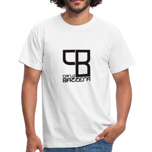 Carlo Bazzera Black on White - Men's T-Shirt