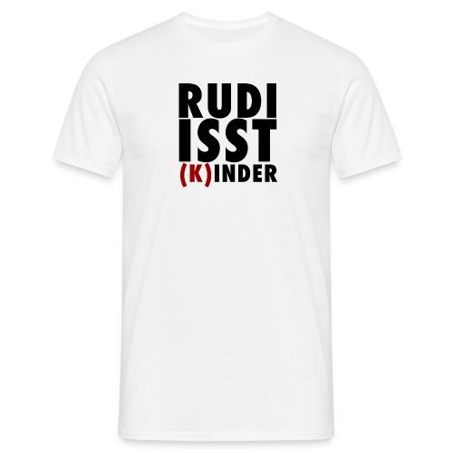 Rudi isst (K)inder - Männer T-Shirt
