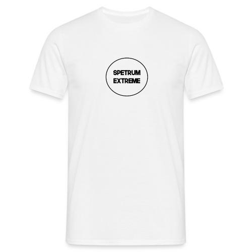 Front white Tee - Men's T-Shirt