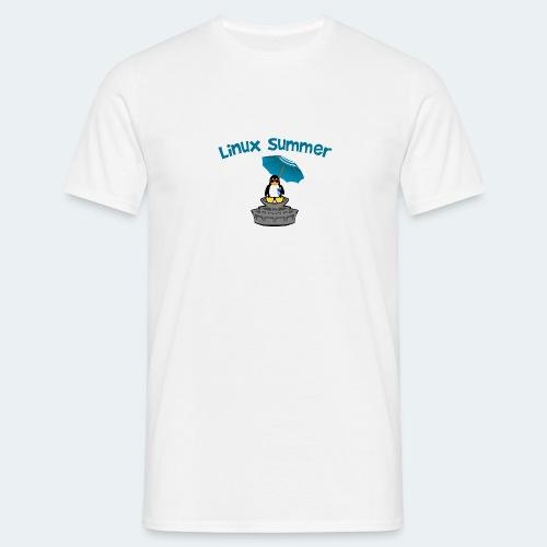 linux summer - Maglietta da uomo
