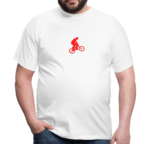 Red BMX Rider - Men's T-Shirt