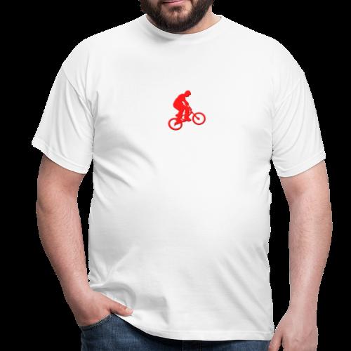 Red BMX Rider - Men's T-Shirt