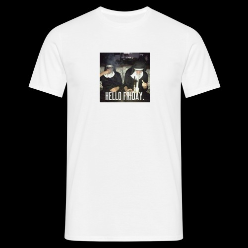 Hello Friday - Männer T-Shirt