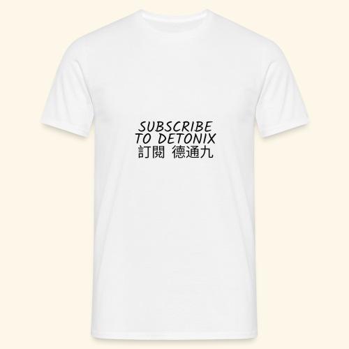 DETONIX CHINESE THENE - Men's T-Shirt