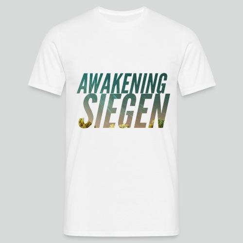 Awakening Siegen Logo - Männer T-Shirt