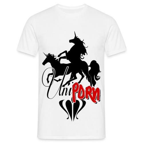 Uniporn - Männer T-Shirt