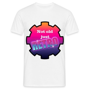 not old just retro - Men's T-Shirt