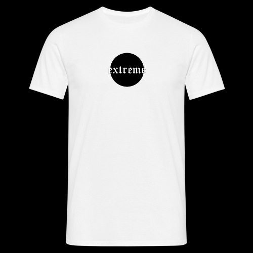 extreme black - Men's T-Shirt