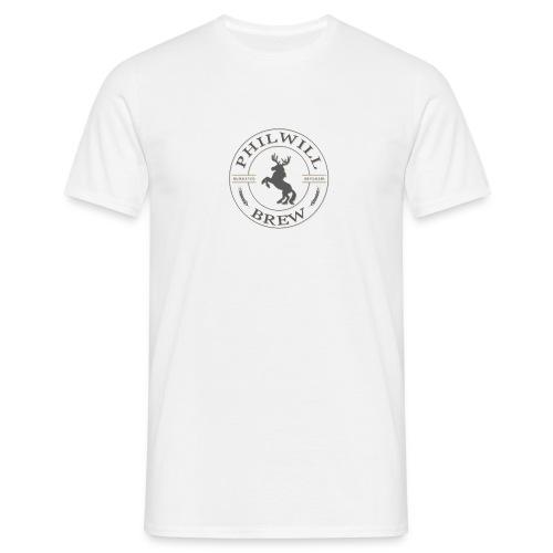 NEW LOGO v2 bigger - Herre-T-shirt