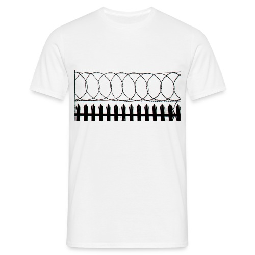 barbed wire - Men's T-Shirt