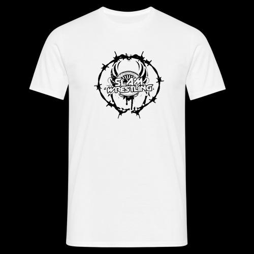 SLAM Wrestling BarbedWire! - Men's T-Shirt