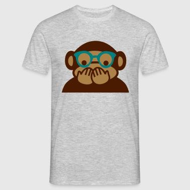 niet praten - Mannen T-shirt