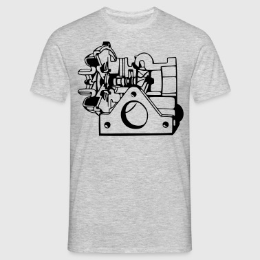 Turbo - Mannen T-shirt