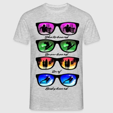 Gleitsporte - Männer T-Shirt