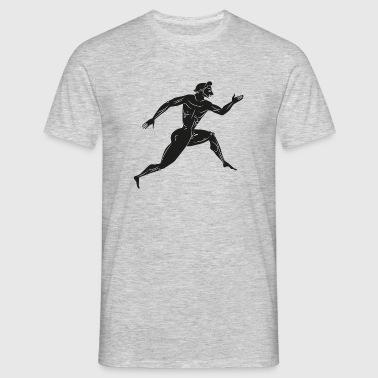 Läufer Antike - Männer T-Shirt
