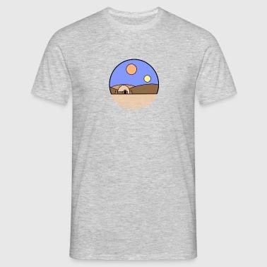 Tatooine Planet - Männer T-Shirt