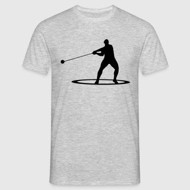 Hammer throw - T-skjorte for menn