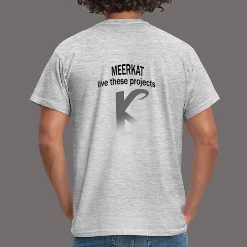 Première collection MEERKAT - logo et slogan - T-shirt Homme