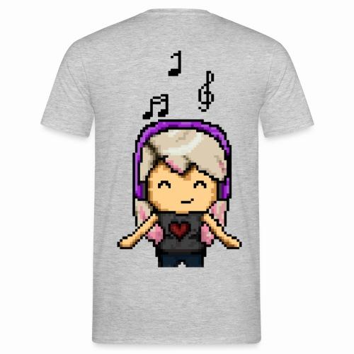 Carina Musik pixel - Männer T-Shirt