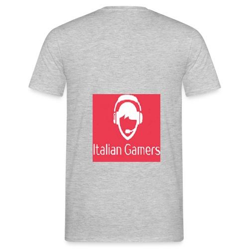 logo italian gamer - Maglietta da uomo