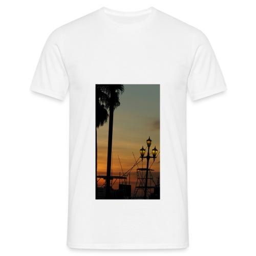 Aruba Oranjestad Harbour - Männer T-Shirt