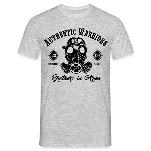 masque a gaz authentic - T-shirt Homme