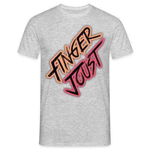 Finger Joust Logo (Alternate Colours) - Men's T-Shirt