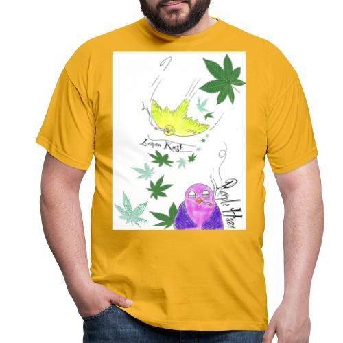 k u s h - Männer T-Shirt