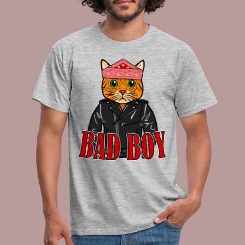 Bad boy chat roux rockeur - T-shirt Homme