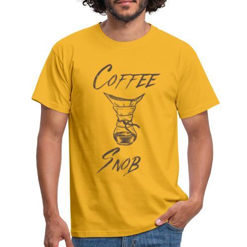 Coffee Snob brewing tee - T-shirt herr