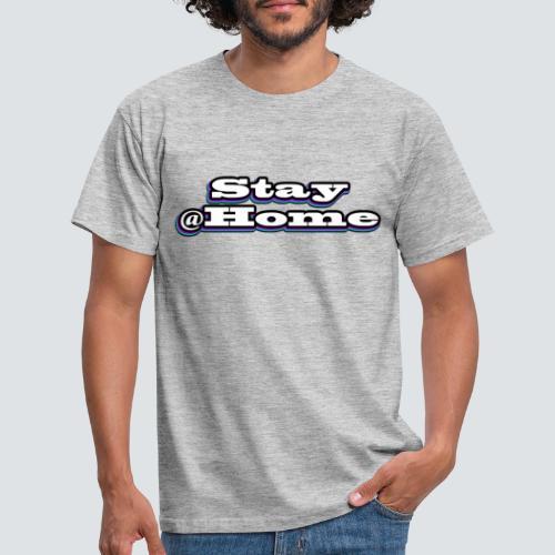 Stay@Home - multicolor - Männer T-Shirt