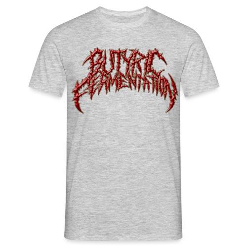 newbutyriclogocheck png - Men's T-Shirt