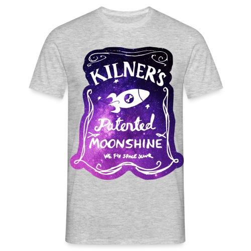 Kilner's Patented Moonshine (Stars) - Men's T-Shirt
