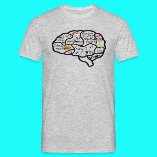 My Brain - Men's T-Shirt