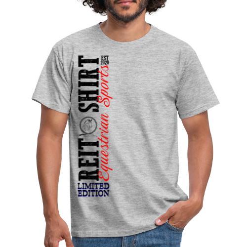 ReitShirt Limited Edition Pferde Reiten - Männer T-Shirt