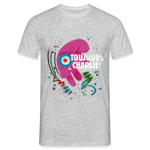 Toujours Charlie interprété par l'artiste C215 - T-shirt Homme