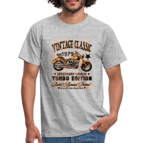 vintage classic - T-shirt herr