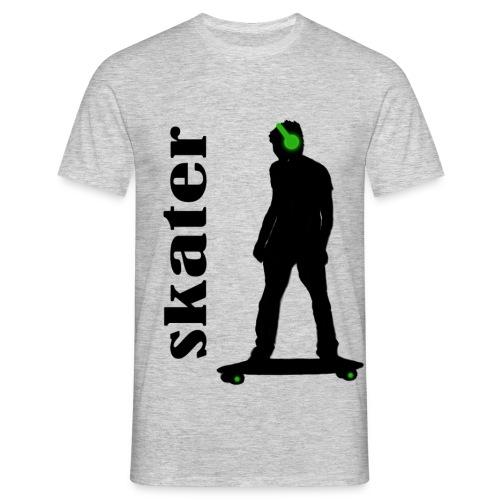 skater green copia - Camiseta hombre