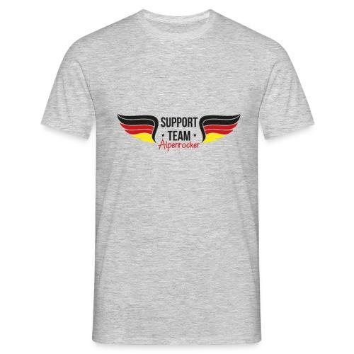 Support team Alpenrocker Andreas fanshirt - Männer T-Shirt