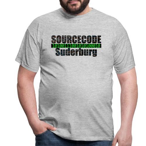 Sourcecode Suderburg - Männer T-Shirt
