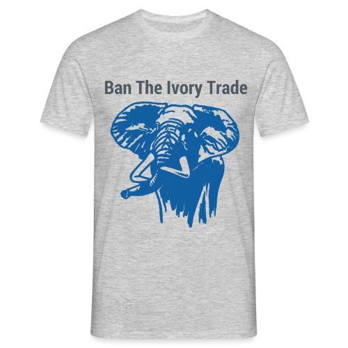 ELEFANT I Ban The Ivory Trade - Männer T-Shirt
