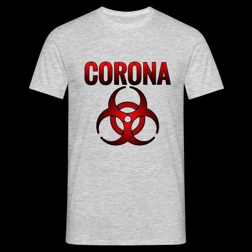Corona Virus CORONA Pandemie - Männer T-Shirt