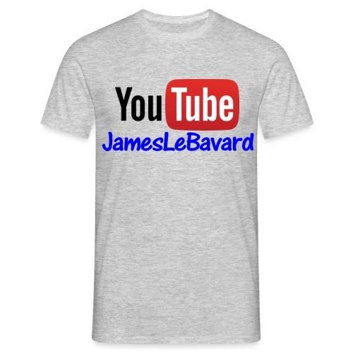 Youtube JamesLeBavard - T-shirt Homme