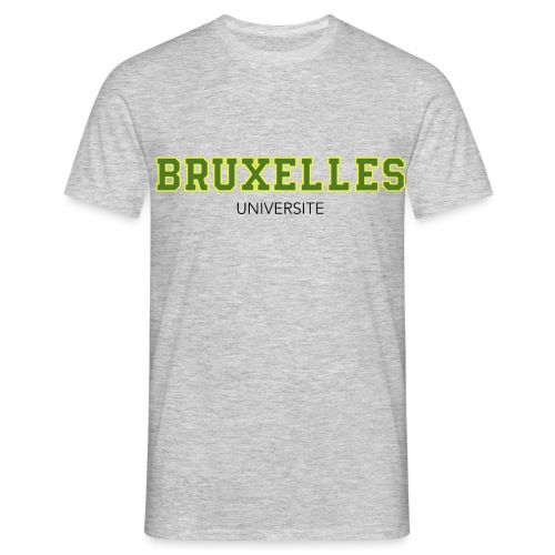 Bruxelles Université Vert - T-shirt Homme