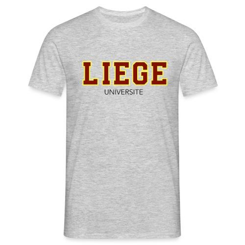 Liège Université Rouge - T-shirt Homme