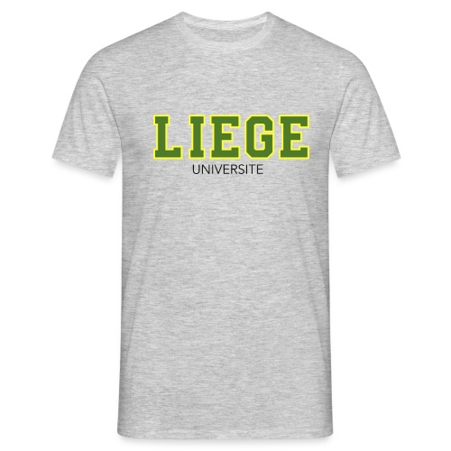 Liège Université Vert - T-shirt Homme