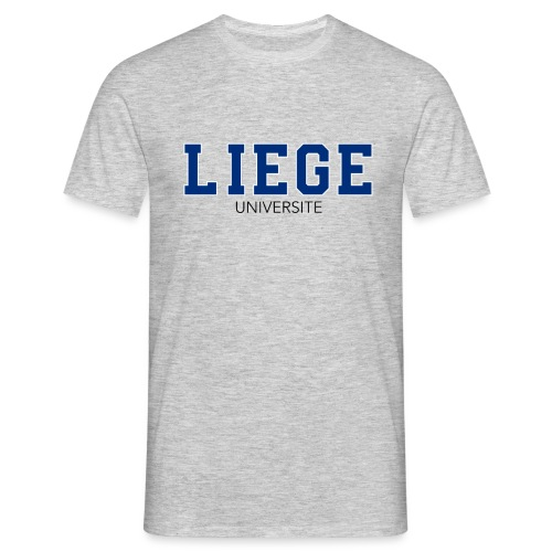 Liège Université Bleu - T-shirt Homme
