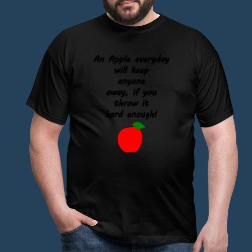Apple Doctor - Männer T-Shirt