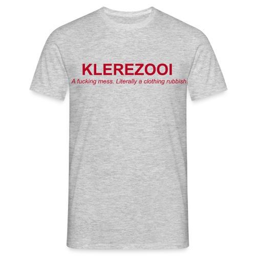 klerezooi - Mannen T-shirt