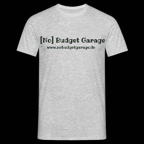 Classic Edition der No Budget Garage - Männer T-Shirt